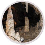 Cavern View 6 Round Beach Towel
