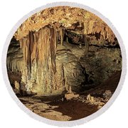 Caverns Round Beach Towel