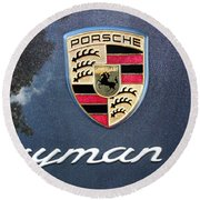 Cayman S Round Beach Towel