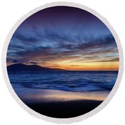 Ceapabhal, Isle Of Harris Round Beach Towel