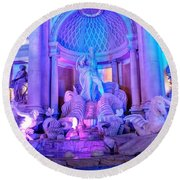 Ceasars Palace Forum Shops Round Beach Towel
