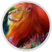 Cecil  Round Beach Towel