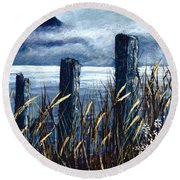 Cedar Cove  Round Beach Towel