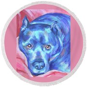 Cedric Round Beach Towel
