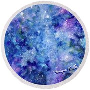 Celestial Dreams Round Beach Towel