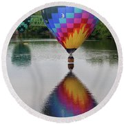 Celestial Reflections Round Beach Towel