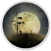 Cemetery Hill Round Beach Towel