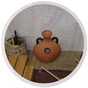 Ceramic Jug Round Beach Towel