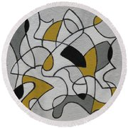 Certainty Round Beach Towel