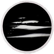 Round Beach Towel featuring the photograph Cessna Art IIi by Paul Job