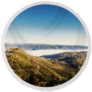 Cethana Range Tasmania Round Beach Towel