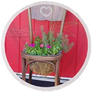 Chair Planter Round Beach Towel