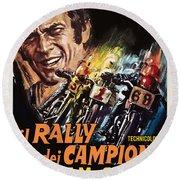 Champions Rally Round Beach Towel by Gary Grayson