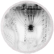 Chandelier Round Beach Towel