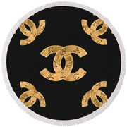 Chanel Jewelry-19 Round Beach Towel