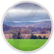 Changing Seasons Round Beach Towel