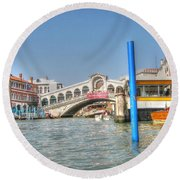 Channels Venice Round Beach Towel
