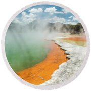 Champagne Pool Round Beach Towel
