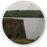 Charles Fort Round Beach Towel