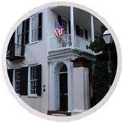 Charlestons Cobble Stone Round Beach Towel