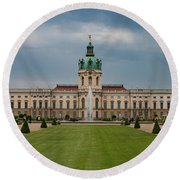 Charlottenburg Palace Round Beach Towel