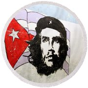 Che Guevara Round Beach Towel