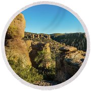Cheers For Chiricahua Round Beach Towel