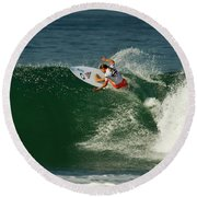 Chelsea Roett Brb Round Beach Towel