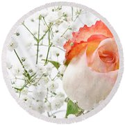 Cherish Round Beach Towel