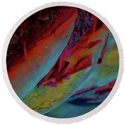 Cherish Round Beach Towel by Richard Laeton