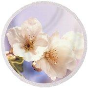 Cherry Blossom Round Beach Towel