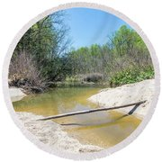 Chesapeake Tributary Round Beach Towel