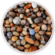 Chesil Pebbles Round Beach Towel