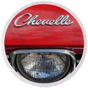 Chevelle Round Beach Towel