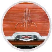 Chevrolet 30-1956 Hydramatic 3100 Round Beach Towel