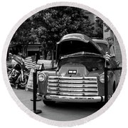 Chevrolet Round Beach Towel by Ester Rogers