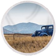 Chevy Truck Round Beach Towel