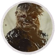 Chewie Round Beach Towel