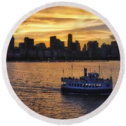 Chicago Beauty Round Beach Towel