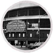 Chicago: Wrigley Field Round Beach Towel