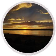 Chickahominy  Round Beach Towel