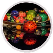 Chihuly Reflection Round Beach Towel