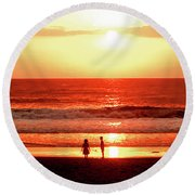 Children Round Beach Towel