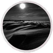 Chills Of Comfort Round Beach Towel by Jerry Cordeiro