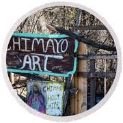 Chimayo Art Round Beach Towel