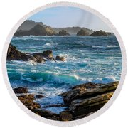 China Cove Round Beach Towel