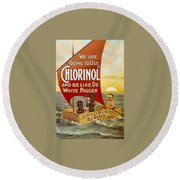 Chlorinol Round Beach Towel