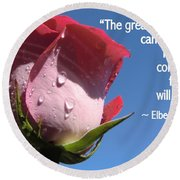 Choose Your Quote Choose Your Picture 24 Round Beach Towel