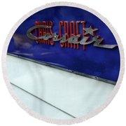 Chris Craft Corsair Round Beach Towel