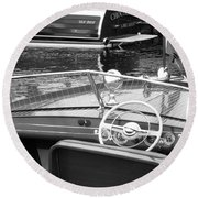 Chris Craft Utility Round Beach Towel